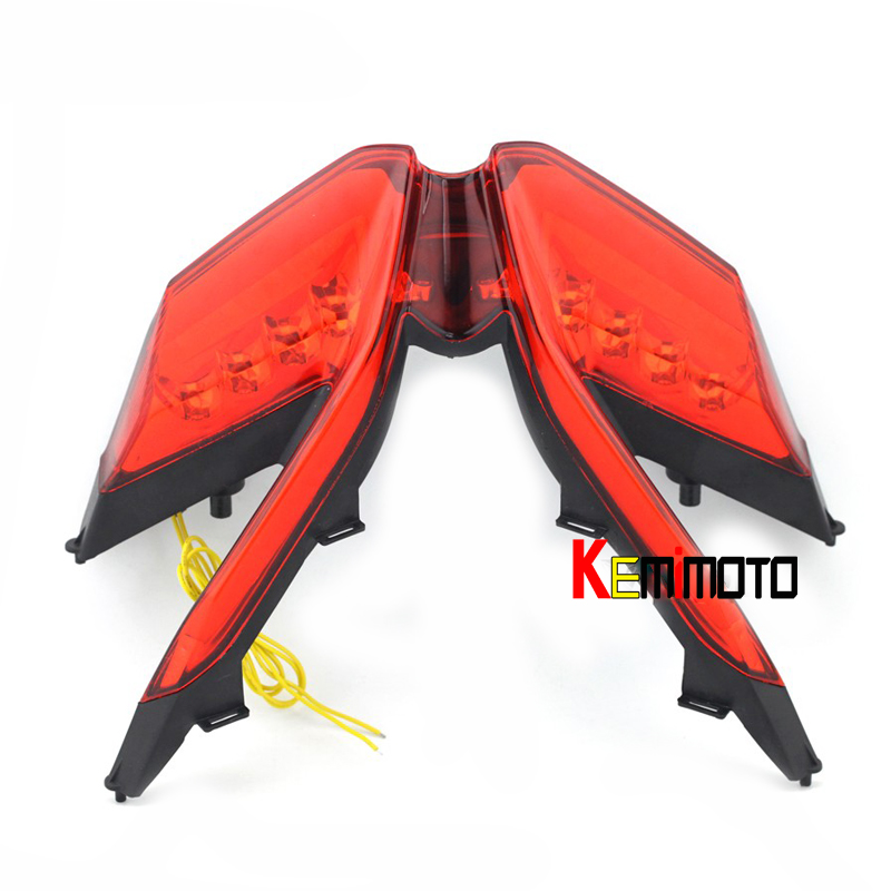 KEMiMOTO New ABS High Quality Ultra Bright LED Taillight Tail Light For DUCATI 1199 899 1299 959 Panigale R S 2012 2013-2016 ...