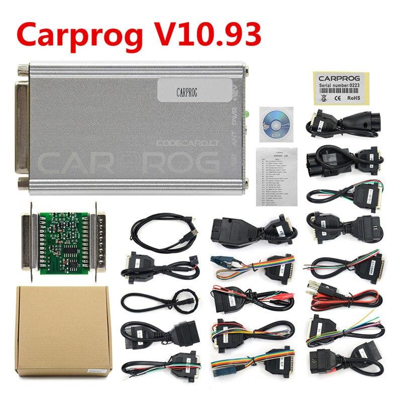 Image 4 - OBD OBD2 CARPROG Carprog V10.0.5/V8.21 Car Prog ECU Chip Tunning Car Repair Tool Carprog With All Adapters pk op com-in Code Readers & Scan Tools from Automobiles & Motorcycles