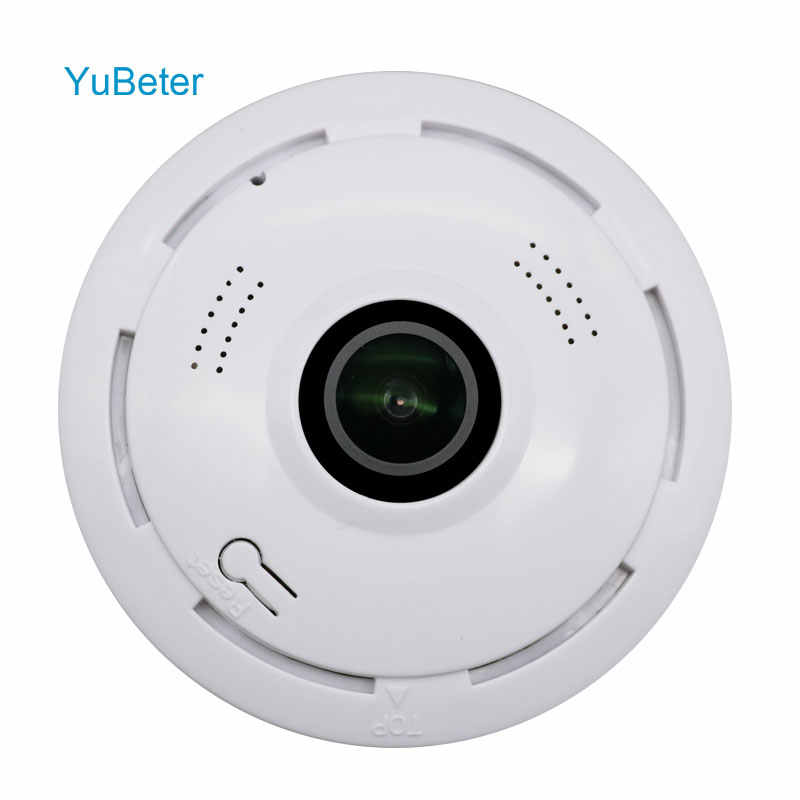 YuBeter 960p 360 Home Security Surveillance Panoramic Camera wifi IP Wireless CCTV fisheye Two Way Audio Infrared Night Version