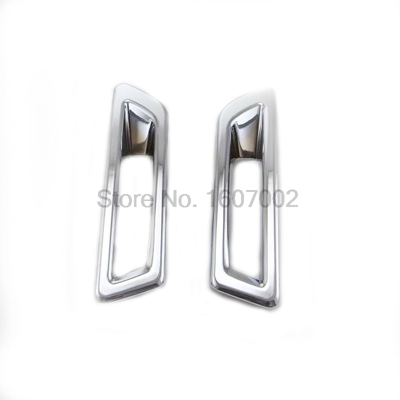 For Land Rover Discovery Sport 2015 2pcs Chrome Front Fog