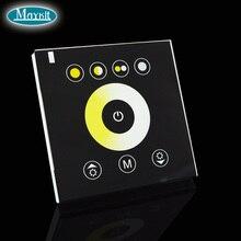 Maykit цветной температурный сенсорный контроллер светодиодный контроллер 12A 2CH для DIY отеля офиса дома неоновые огни 12 Предустановленная программа