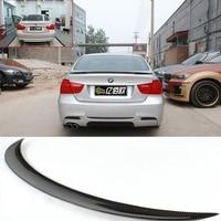 E90 350i 325i Carbon Fiber Performance Style Rear Trunk Spoiler Wing Lip For BMW 3 Series Sedan 2005 2012