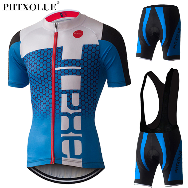 PHTXOLUE Uomini Ciclismo Imposta Mtb Jersey Mountain Bike Abbigliamento Ropa ciclismo 2017 Maillot/Usura Estate Abbigliamento Ciclismo