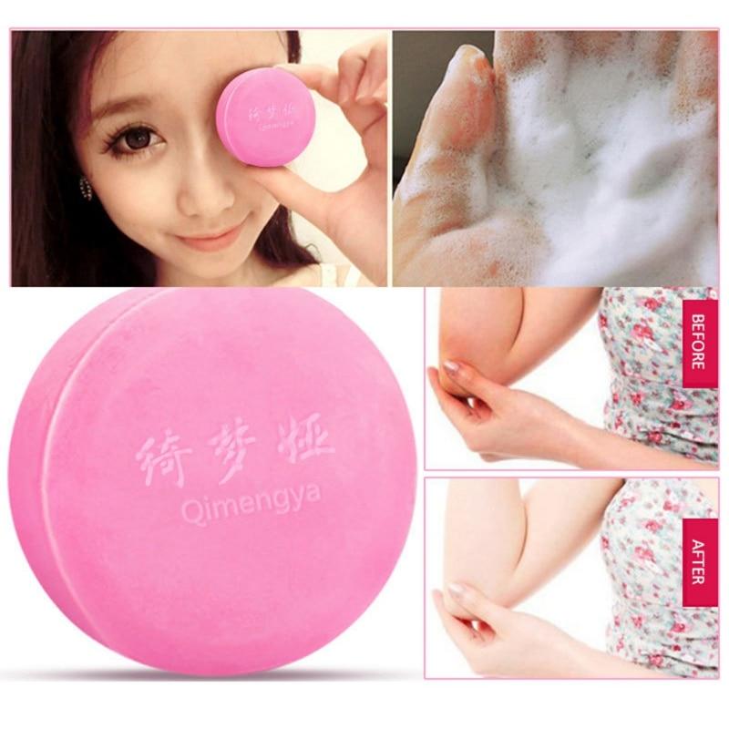 Female Private Part Whitening Soap Moisturizing Lightening Pigment Brighten Skin Tone Handmade Soap