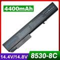 Laptop Battery For HP HSTNN-W46C NBP8A8282 KU533AA HSTNN-LB60 EliteBook 8530p 8530w 8540p 8540w 8730p 8730w 8740w ProBook 6545b