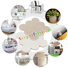 Best Price Top Quality 18Pcs Self Adhesive Floor Furniture Wall Chair Scratch Protector Felt Round Pads