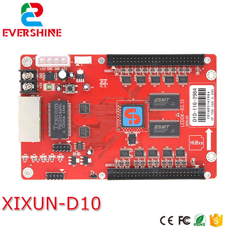цена Brand New ! XiXun D10 Receiving Card LED Display Panel P10 Support MAX 320 x 256 Pixels P10 Modules 320pcs