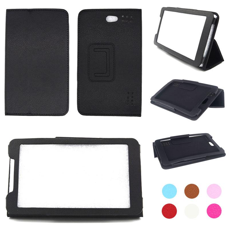For Prestigio MultiPad Grace 3157 3G 7 inch Tablet PU Leather Folding Folio Case Stand Cover+Stylus Pen +Screen Protector Film