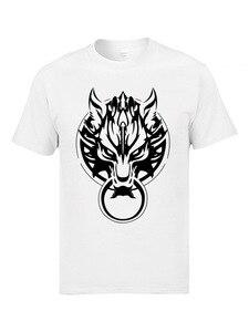 Final Fantasy Fenrir Wolf Monsterwolf футболки мужские модные 3D принты Aardwolf Coyote Animal футболки мужские летние крутые футболки