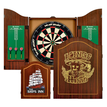 Winmax Indoor Game 18 Inch Professional  Advanced shaver Dartboard and MDF Cabinet
