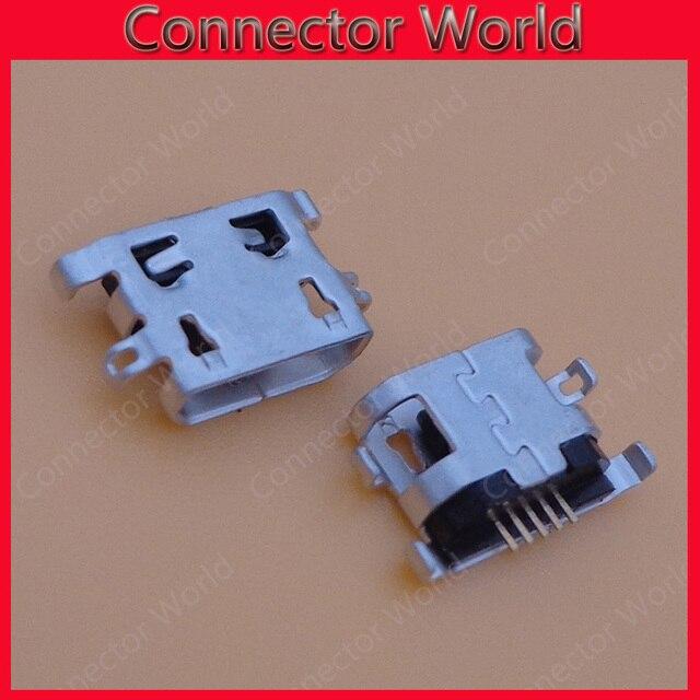 50 個レノボ A2010 ComputerTablet PC 携帯電話マイクロ USB コネクタジャックソケットミニ充電ポート DC 交換 5pin