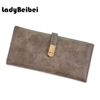 Lady Bei Bei Latest Female Wallet PU Leather Long High Capacity Women Wallet Casual Money Purse