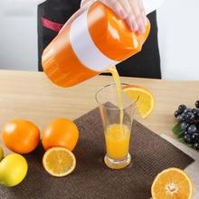 Mini manuelle orange entsafter lemon saftflasche fruit squeezer extractor citrus handpresse cup obst gemüse werkzeuge