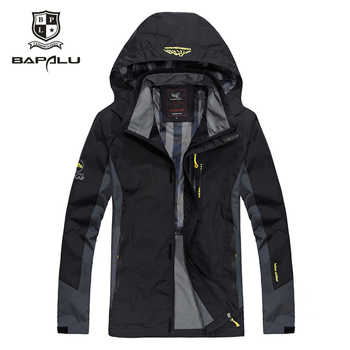 spring Autumn kurtki Large size L-5XL 6XL 7XL 8XL jaqueta masculino Windproof jackets ropa Men's Hooded Casual jacket coat - DISCOUNT ITEM  20% OFF All Category