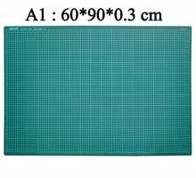 ПВХ Самоисцеления Резка Коврики с сеткой A1 Craft темно-зеленый лоскутные инструменты Резка Pad 60*90 см