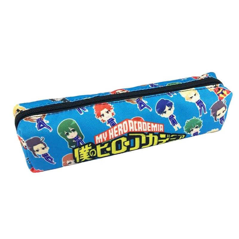 My Boku No Hero Academia Pen Bag Cute Pencil Case Unisex Zipper Make Up Bag Cosmetic Case