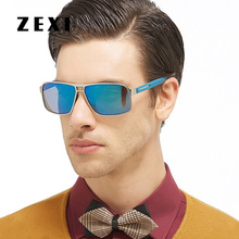 ZEXI Polaroid Sunglasses Men Polarized Glasse Male Driver Glasses Driving Sun Glasses UV400 High Quality 8169