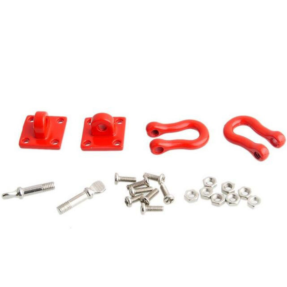 The Climbing Trailer Hook Buckle for Axial Simulation Of Climbing Car Metal Parts