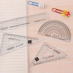 Простой практичный набор Канцелярии для школы оригинальный компас ластик, линейка, набор для обучения детей инструмент поставок живопись