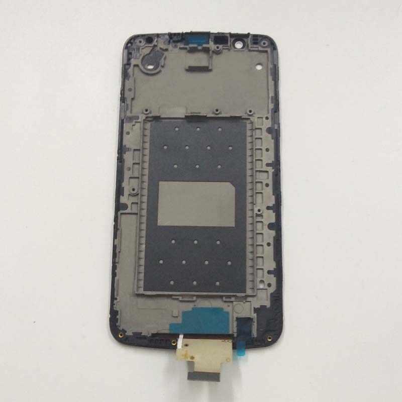 Для LG K10 LTE K430 K430DS/K410 K420 K420n сенсорный экран дигитайзер сенсор стекло + ЖК-дисплей монитор панель в сборе + рамка