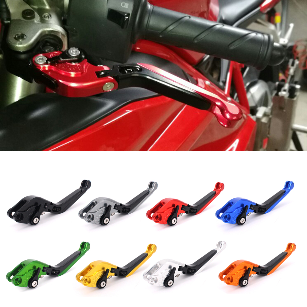 CNC Motorcycle Brakes Clutch Levers For HONDA VTR 1000F /FIRESTORM VFR 800/750 F VTR1000F VFR800 VFR750 CBF 1000 CBF1000 /F 5 color for vfr 750 800 vtr1000f cbf1000 vfr750 vfr800 folding extendable brake clutch levers gold motorcycle