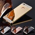 """Роскошный Горный Хрусталь Bling Gold Зеркало Для Xiaomi redmi 3 s чехол Для xiaomi redmi 3 s телефон случае redmi 3 pro случае 5.0"""""""
