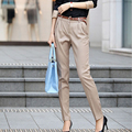 Primavera y otoño mujeres del harem de moda pantalones OL office Lady pantalones sueltos mujer gran tamaño de los pantalones sml XL XXL ventas al por mayor