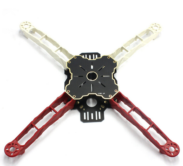 F16269 DIY FPV Across Frame HMF Totem Q380 380mm Multirotor Mini Quadcopter Kit Lightweight High Strength Better than F330 diy fpv mini drone qav210 zmr210 race quadcopter full carbon frame kit naze32 emax 2204ii kv2300 motor bl12a esc run with 4s