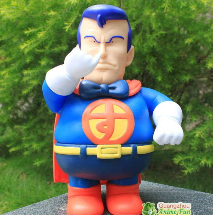 Dr.Slump Doll Arale Toys Fool Superman Figure PVC Figurne 22cm