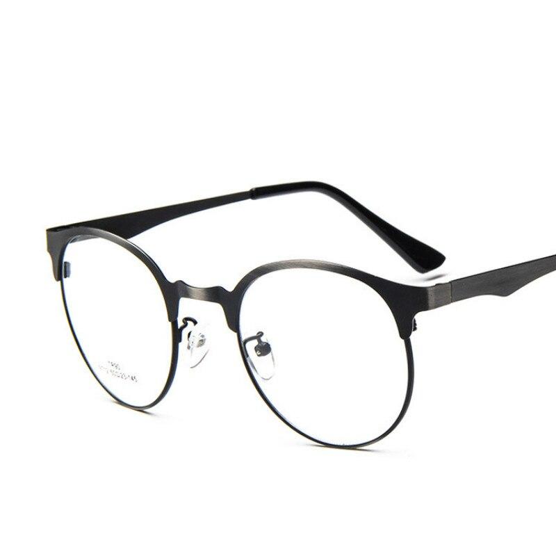 9dd879d6f8 ANEWISH Metal Glasses Frame Women Brand Eyeglasses Women Frame Men Vintage  Round Myopia Eyeglasses Prescription Frames -in Eyewear Frames from Apparel  ...
