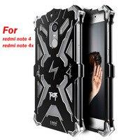 Original Simon Powerful Shockproof Screw Ironman Metal Case For Xiaomi Redmi Note 4 Aluminum Phone Cases