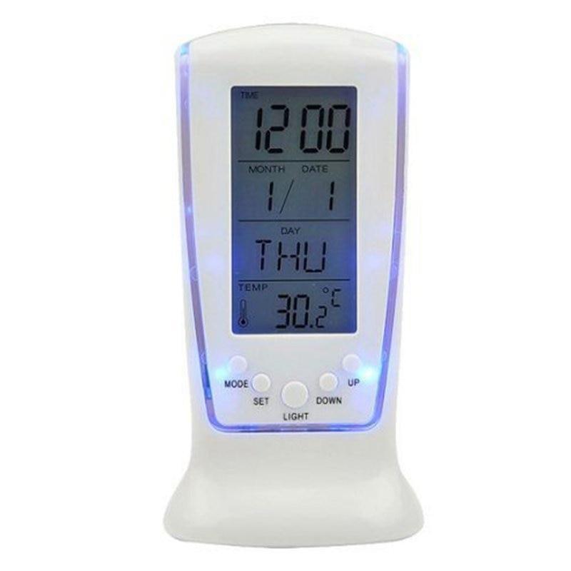 Kućni satovi Smrznuti LED digitalni sat Despertador Stolni sat Noćni budilnik Elektronski sat kvadratni poklon za djecu