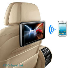 For LSQ STAR 10.1 inch seat back DVD player headrest with wifi display/Airplay/Miracast/FM/IR/SD/USB/3G/mp4/mp5 for all the car