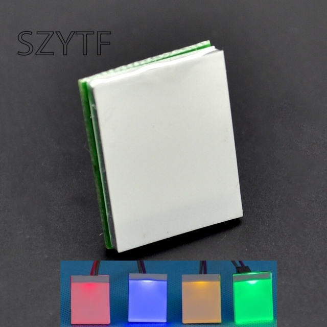 10pcs red Green yellow Yellow color HTTM Series 2.7V-6V Capacitive Touch Switch Module Strong anti-interference