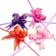 Lucia crafts, 20 шт./лот, 21*1,5 см, подарочная лента, вечерние украшения на день рождения, упаковка, бант, лента, цветочные аксессуары, H0605