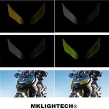 MKLIGHTECH For HONDA X-ADV XADV 300 750 1000 2017-2019 Motorcycle Acrylic Headlight Screen Protecter Lens Cover