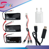 H502S 7 4V 610mAh Lipo Battery 15C 4 5Wh Batteries 2 3pcs And Charger JST Plug