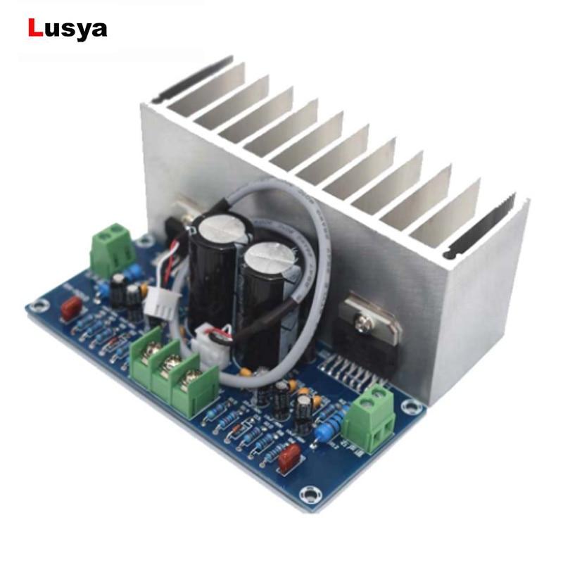 Carte damplificateur TDA7293 Audio num/érique Conseil 100W damplificateur de puissance double canal double AC12-32V