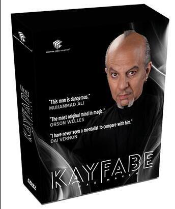 Kayfabe (conjunto 4) por Max Maven e Luis De Matos-truques de Mágica