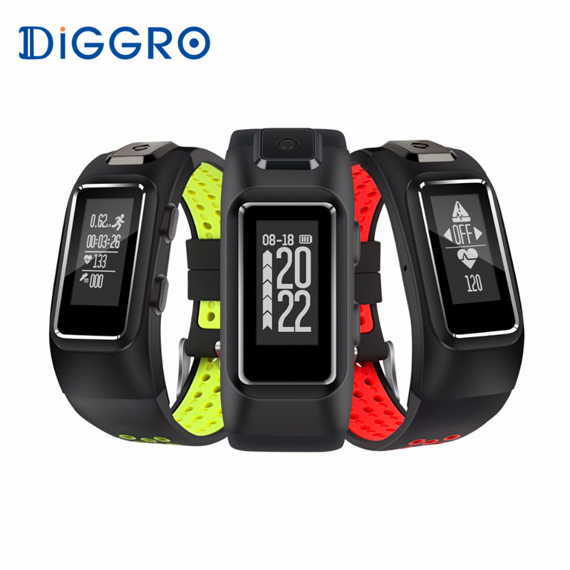 Hot Diggro DB10 GPS Smart Bracelet Heart Rate Monitor IP68 Waterproof Sport Smart Wristband Sleep Tracker Android IOS PK S908