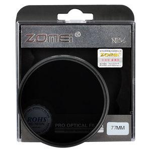 Image 4 - Zomei neutralnej gęstości soczewka filtra zestaw ND ND2 + ND4 + ND8 52mm 58mm 62mm 67mm 77mm 82mm dla Canon Nikon Sony obiektyw aparatu
