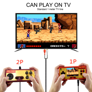 Image 2 - Data Frog Portable Handheld Game Players Built in 638 Classic Games Console 8 Bit Retro Video Game For Gift Support AV Out Put