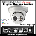 OEM DS-2CD2342WD-I (2.8mm) HIK Inglés versión $ NUMBER MP cámara IP Onvif P2P POE CCTV cámara Cámara de Red de seguridad cámara HIKVISION