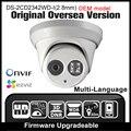 OEM DS-2CD2342WD-I (2.8mm) HIK Inglês versão 4MP câmera Onvif P2P POE IP câmera de CCTV Câmera de segurança de Rede câmera HIKVISION