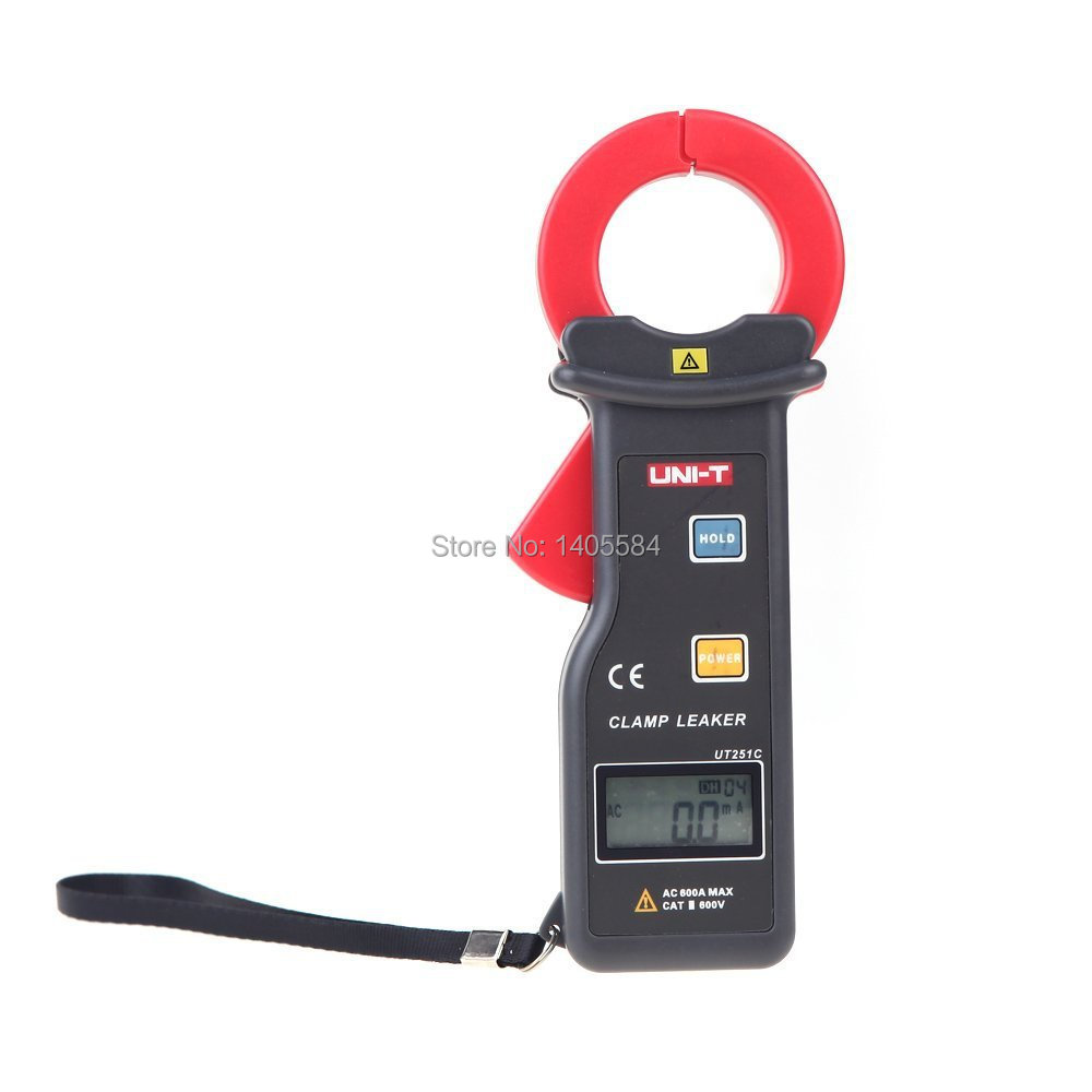 UNI-T UT251C RS-232 High Sensitivity Leakage Current Clamp Meters 10000 Display count  w/99 Data Logging Ammeter Multitester etcr030 high accuracy clamp leakage current sensor
