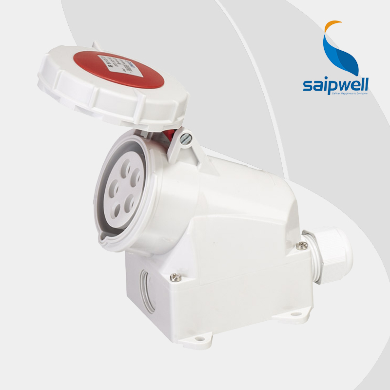 IP67 5P 16A Waterproof Industrial Electrical Socket / Electric International Standard Surface Mounted Socket (SP-1200)