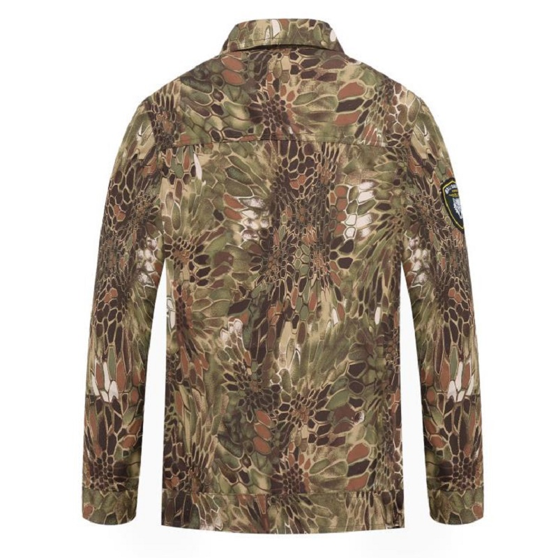 Sport de plein air chasse vêtements Camouflage costumes chemise tactique + Combat Cargo pantalon Uniforme militaire uniformes Ghillie costume - 4
