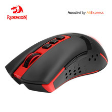 Redragon USB Wireless Gaming Mouse 4800 DPI 9 buttons Laser ergonomic for overwatch gamer Mice laptop pc computer