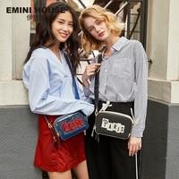 EMINI HOUSE Paris Series Patent Leather Flap Crossbody Bags For Women Shoulder Bag Purses And Handbags Women Messenger Bags Shoulder Bags