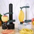 Автоматическая электрическая Картофельная очищенная яблоко фруктовая Овощечистка многофункциональная пилинг машина строгальный нож маш...